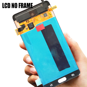 Image 4 - ORIGINAL 5.7 LCD For SAMSUNG GALAXY Note 7 Note FE N930 N930F Display Touch Screen Digitizer Assembly Replacement With Frame