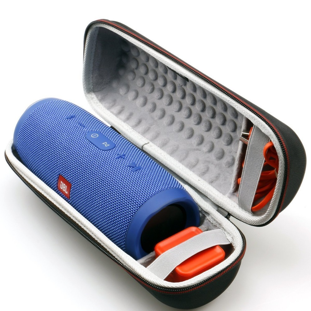 LTGEM Case For JBL Charge 3 Waterproof Portable Wireless Speaker. Fits USB Cable And Charger. [ Speaker Is Not Include ]