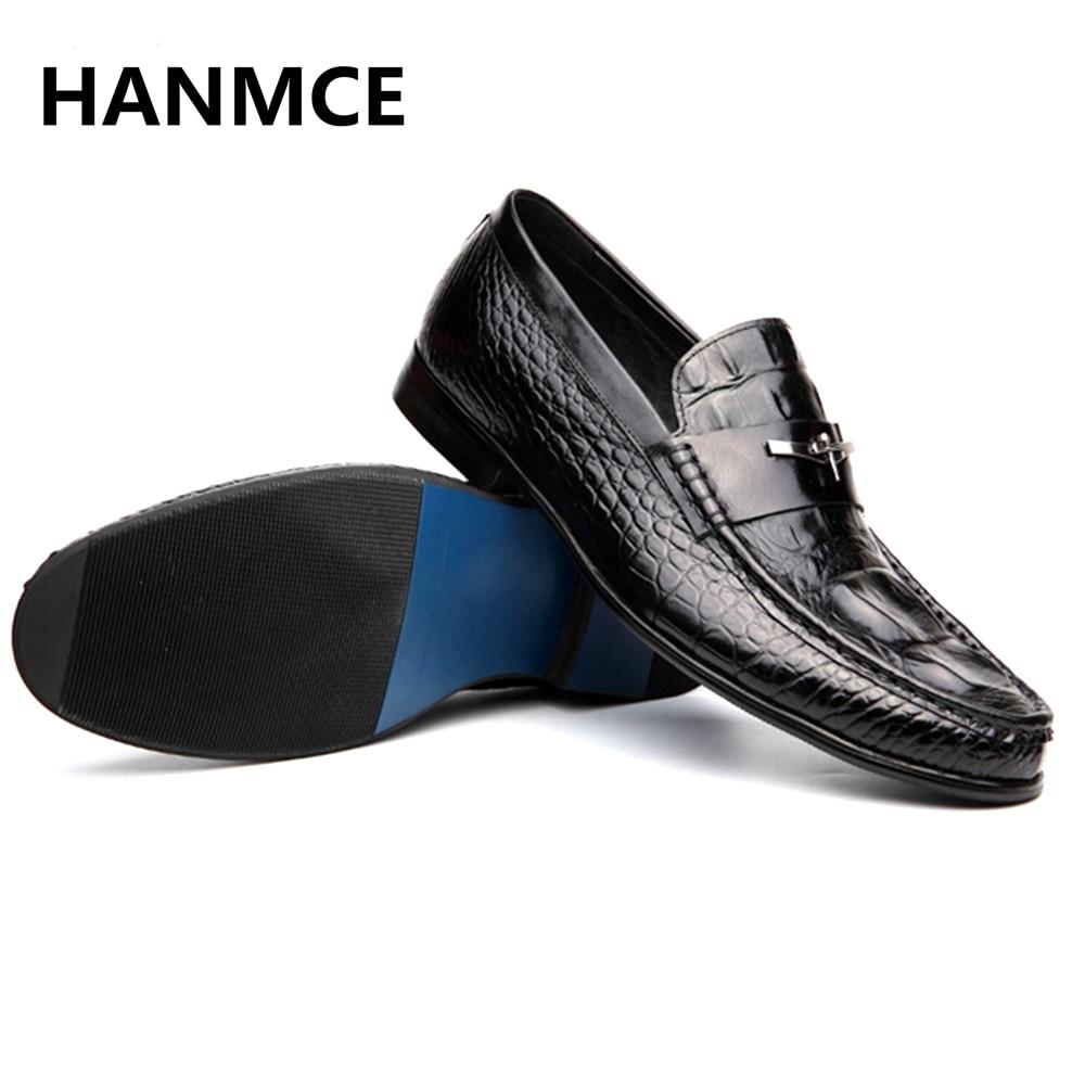 Men's Shoes 2019 New Snake Skin Formal Business Shoes Hot Men Top Quality Wedding Bride Dress Shoes Hombre
