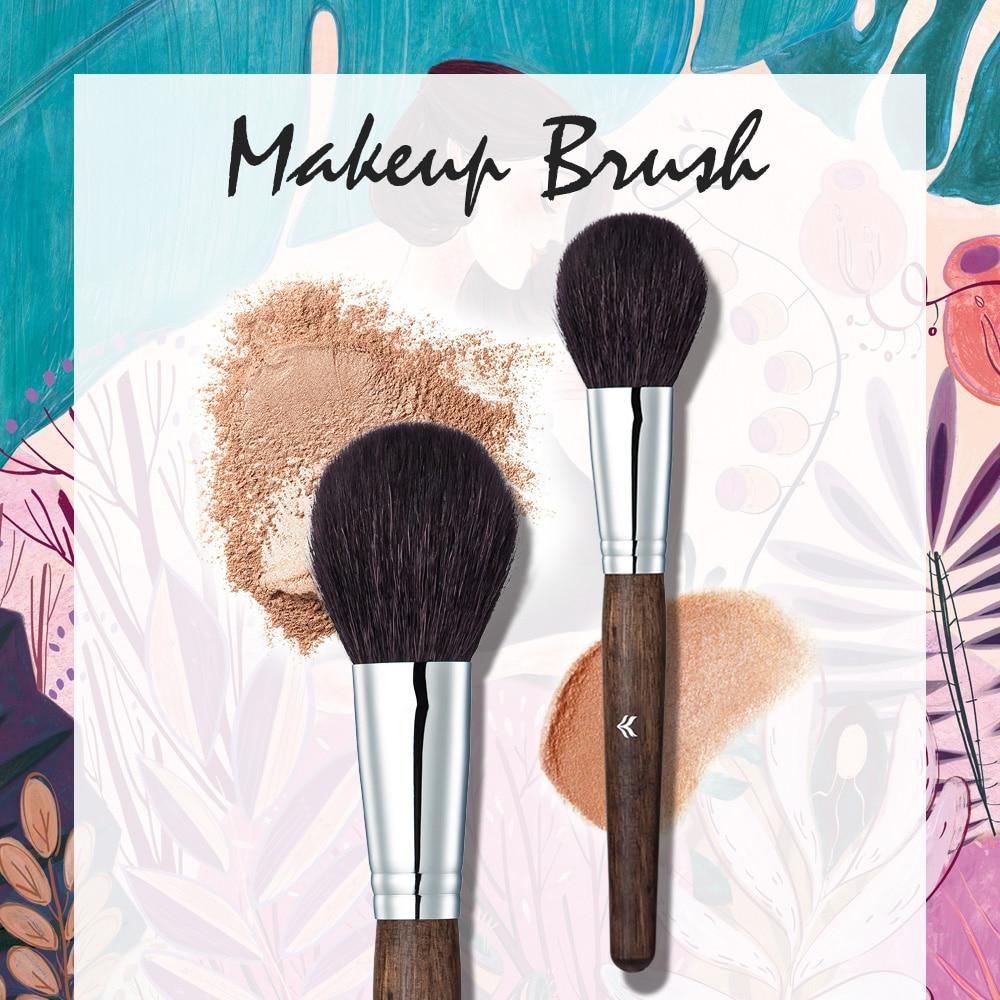 купить HUAMIANLI BAND Makeup Brush Cosmetic Powder Foundation Professional Face Blush Make up Blusher Brush Women Facial Makeup Tool недорого