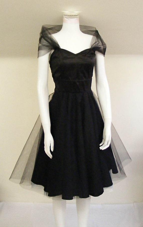 Popular 1950s Black Cocktail Dress-Buy Cheap 1950s Black Cocktail ...