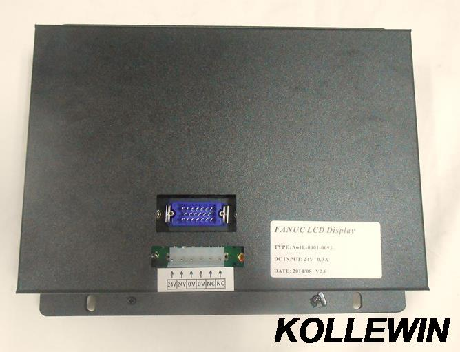 A61L-0001-0095 D9CM-01A 9 NEW Replacement LCD Monitor for FANUC CNC system CRT, FAST SHIPPING 1 year warranty mdt947b 2b a61l 0001 0093 9 replacement lcd monitor replace fanuc cnc system crt