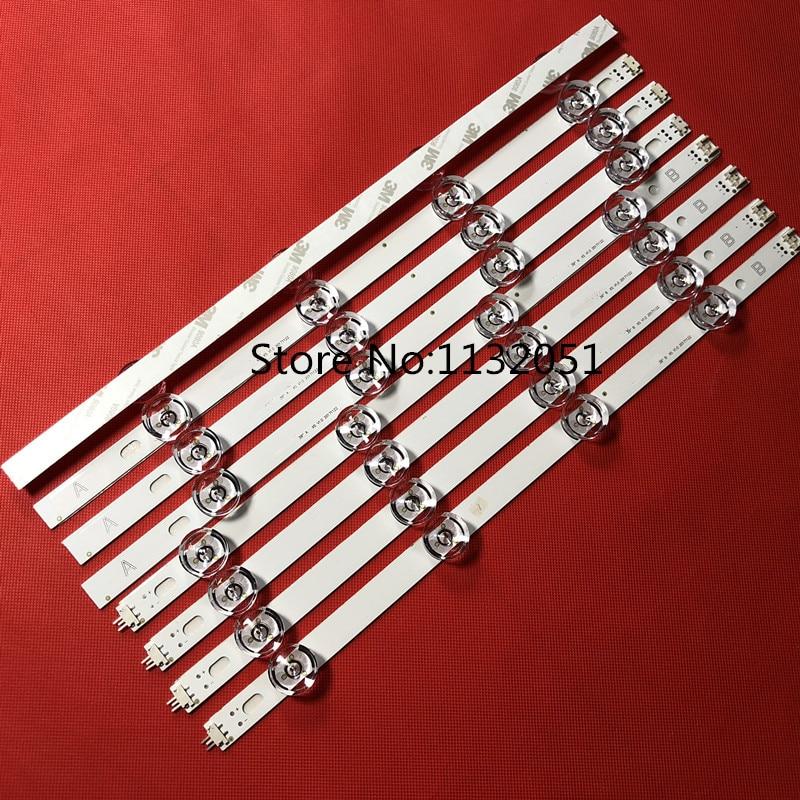 8 PCS/set LED Backlight Strip Bar For 39 Inch TV 39LB561V 39LB5800 Innotek DRT 3.0 39