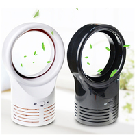 JZ43 New Hot Selling Office Portable Handheld Mini Usb No Blade Fan Electric Bladeless Cooler Air Condition