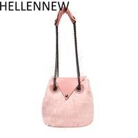Hellennew 2017 Fashion Mini Crossbody Búho Bolsa de Hombro de Las Mujeres de Piel Bolsas De Diseñador De Lujo Bolsos de Cadena Femenina Bolsa de Mensajero de Las Mujeres