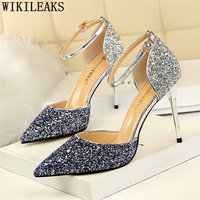glitter heels mary jane shoes extreme high heels ladies shoes woman fetish high heels women sexy shoes chaussures femme tacones