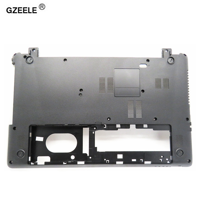 GZEELE New laptop Bottom case cover For Acer Aspire E1-510 E1-530 E1-532 E1-570 E1-572 E1-572G E1-532G V5WE2 Z5WE1 Black shell quying laptop lcd screen for acer aspire m3 581tpg f5 571 e1 572 e1 530 e1 532 e1 570 e1 570g series 15 6 inch 1366x768 30pin