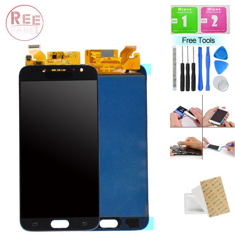 c49c7732b J730F LCD For Samsung Galaxy J7 Pro J730 Case J730F LCD Display Touch  Screen Assembly For