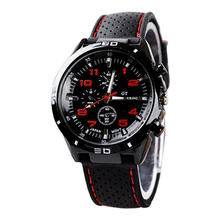 Brand Fashion Casual Sports Military Men's Watch Clock Luxury Leather strap Calendar Quartz Men Watches 6 Color Wristwatches цена в Москве и Питере
