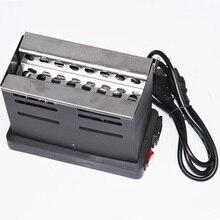 Black Heater Hookahs Charcoal Heater Stove Hot Plate Coal Burner For Chicha Hookah Shisha Sheesha Stove Heat 220V EU Plug