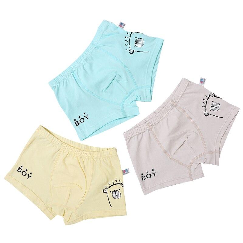 3PCS/LOT Boy's Modal 2-7Y Kids Underpants Boxers Soft Baby Boys Underpants Cotton Panties For Boy Children Underwear Infantil