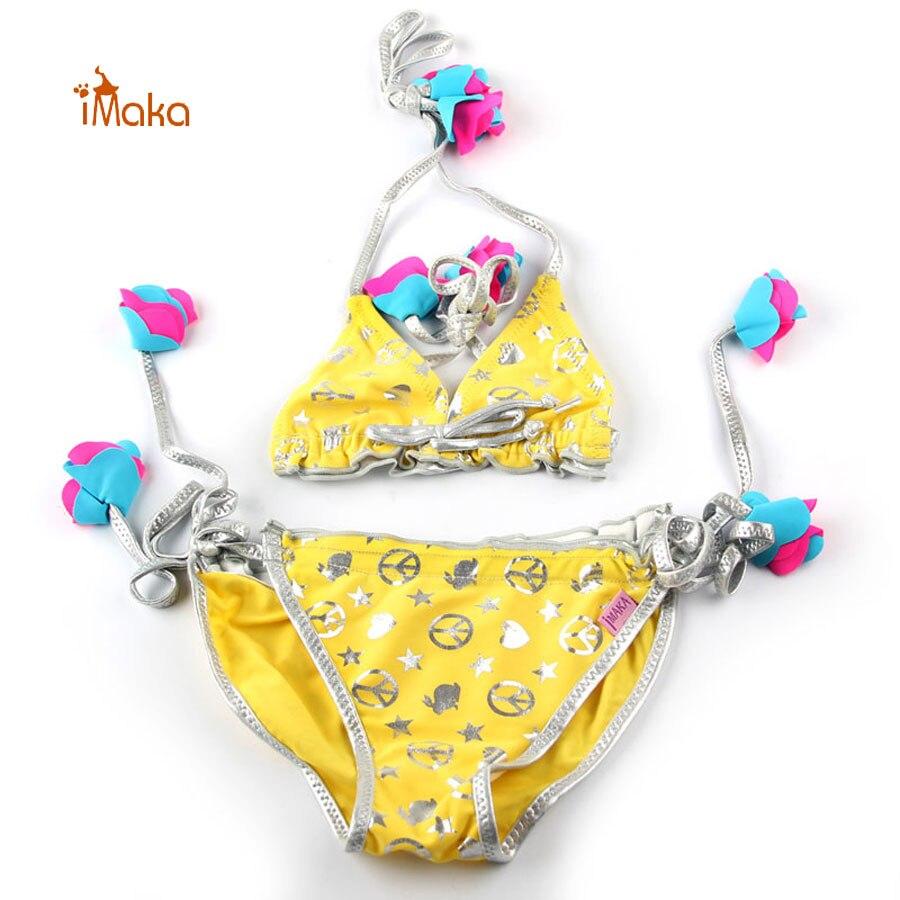 Imaka 2 11T Girls Bikini Set For 2 11 Age Kids String