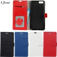 Uftemr For Xiaomi MI 6 Plus Cases Magnetic Genuine Leather Flip Wallet Cover Case Phone Case