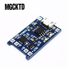 100% New 5V Micro USB 1A 18650 Lithium Battery Charging Board With Protection Charger Module for Diy Kit(China)
