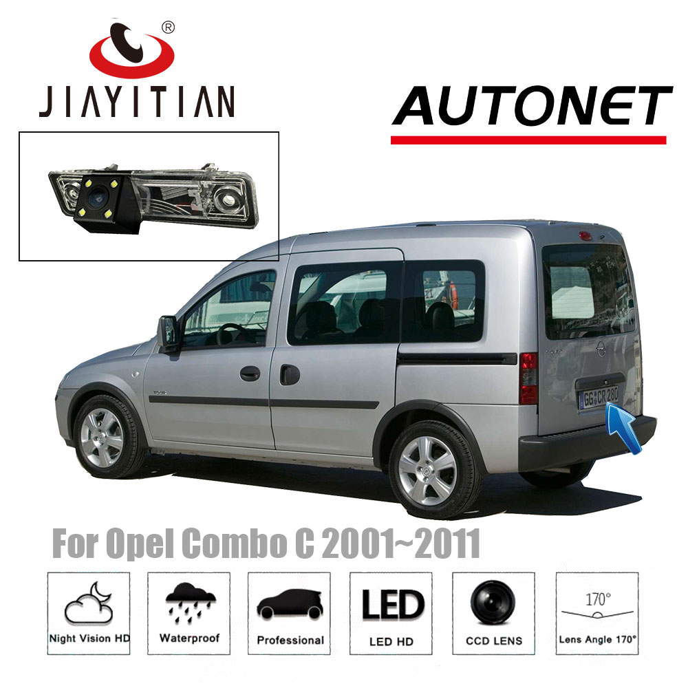 JIAYITIAN Rear View Camera For Opel Combo C Tour 2001~2011/CCD/Night Vision/Reverse Camera backup camera license plate camera jiayitian rear view camera for opel zafira a 1999 2005 ccd night vision reverse camera backup camera license plate camera