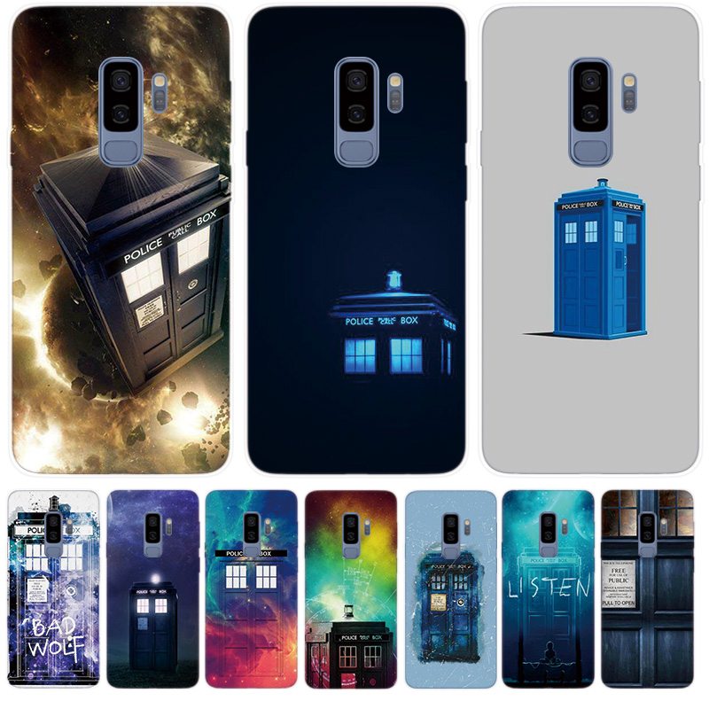 Fitted Cases Iyicao Tardis Box Doctor Who Soft Silicone Phone Case For Samsung Galaxy S10 S9 S8 Plus S6 S7 Edge S10e E Tpu Black Cover Cellphones & Telecommunications