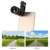 Móvil Kit de Lentes ojo de Pez Gran Angular Macro Lentes de Zoom de 8X teleobjetivo telescopio para xiaomi huawei meizu lenovo iphone 7 6 5