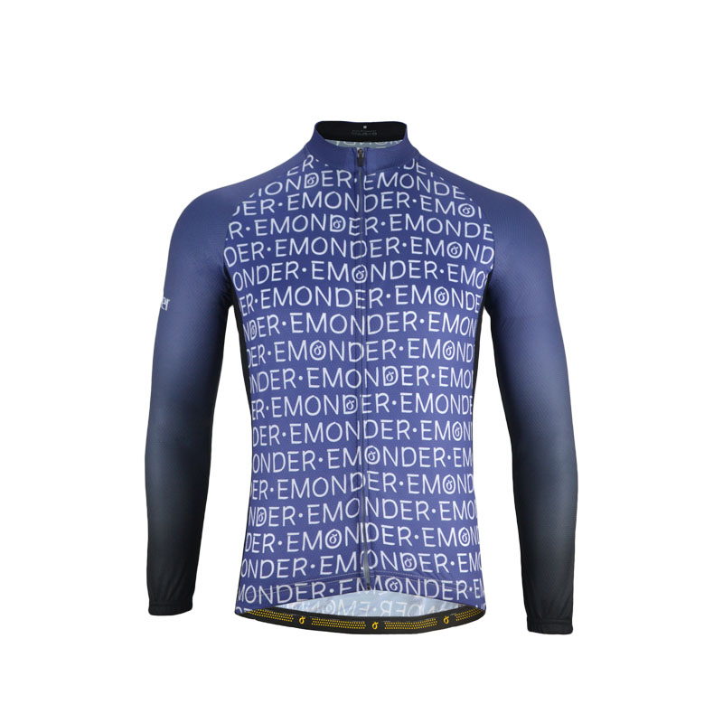 Mens Pro Cycling <font><b>Jerseys</b></font> Autumn Long Sleeve <font><b>Bike</b></font> <font><b>Jersey</b></font> Emonder <font><b>Custom</b></font> Mtb/Road Top Quality Bicycle Clothing Maillot Ciclismo image