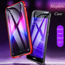 For Vivo Nex 2 Dual Screen Magnetic Case nex2 360 Front+Back double-sided Tempered Glass vivo nex Metal Cover