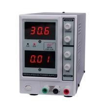 Buy 0-30V 0-3A 3 Digits Digital Regulated DC Power Supply adjustable dc power supply Variable voltage regulator EM1703 EU/US Plug