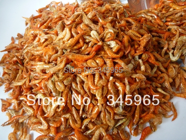 FREE SHIPPING DRIED SHRIMP FOOD FOR dragon fish Partial predatory fish NEW FISH AQUARIUM 300G in Aquariums Tanks from Home Garden