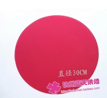 Free shipping,Silicone oven mat pad pan pad chopping board pad high temperature resistant 30cm