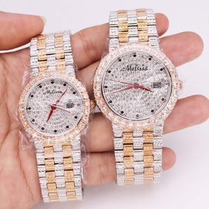 SALE!!! Discount Melissa Auto Date Crystal Rhinestones Women's Watch Men's Watch Japan Mov't Fashion Hours Girl's Gift Box(China)