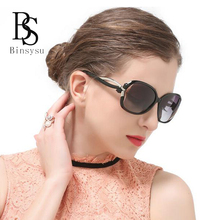 Butterfly Buckle Design Sunglasses Women Outdoor Polarized Glasses Luxury Ladies Hollow Colorful UV400 Protection Eyewear G2229