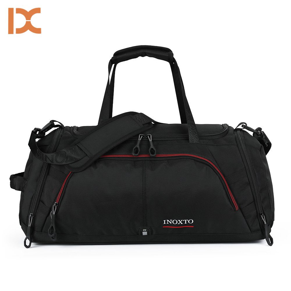 2018 Outdoor Male Female Sport Bag Waterproof Hiking Travelling Nylon Handbag Fitness Shoulder Gym Bag Training Yoga Duffel Bag yoga fitness bag waterproof nylon training shoulder crossbody sport bag for women fitness travel duffel clothes gym bags xa55wa