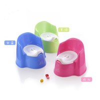 2016 New Style Candy Colored Child Toilet Baby Toilet Thickening Baby Potties Free Shipping