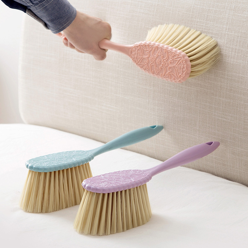 1pc Soft Fur Bed Brush Sofa Dusting Brush Cleaning Brush