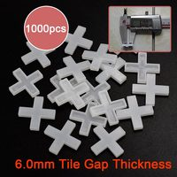 ZF S60 6 0MM Plastic Tile Spacer Tile Cross For The Flooring Clips Put Out Spacer