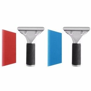 Image 3 - 새로운 자동차 자동 창 필름 tinting 스퀴지 면도기 블레이드 스크레이퍼 도구 핸들