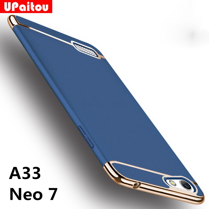 new product 3c34f d181f US $2.99 25% OFF|UPaitou For OPPO A33 / Neo 7 Case Luxury Protective Back  Cover 3 in 1 Hard PC Hybrid Case for Oppo A33 Full Coverage Shell Case-in  ...