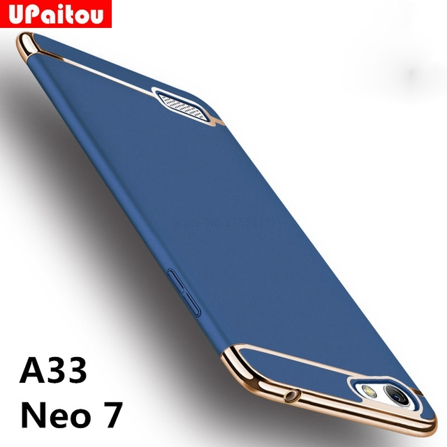 new product 8bd6e 99996 US $2.99 25% OFF|UPaitou For OPPO A33 / Neo 7 Case Luxury Protective Back  Cover 3 in 1 Hard PC Hybrid Case for Oppo A33 Full Coverage Shell Case-in  ...