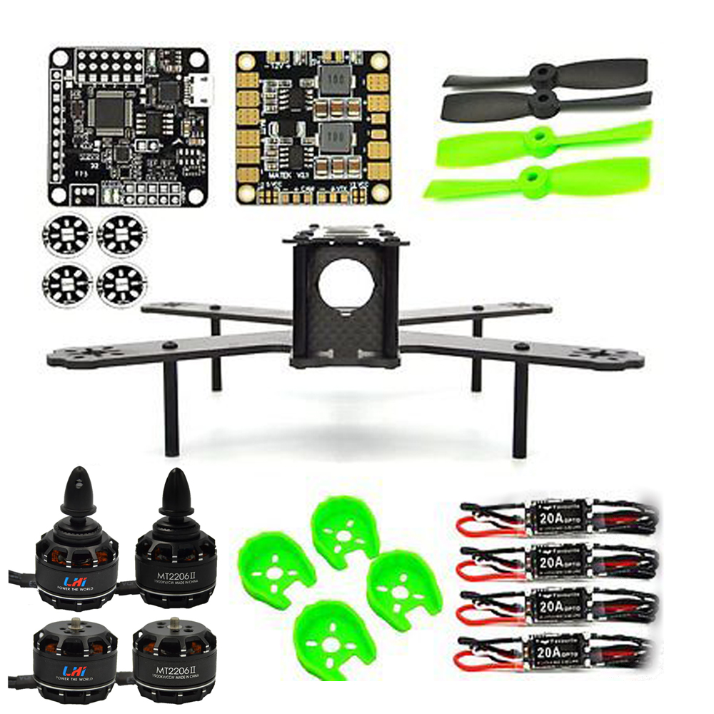 fpv ARF 210mm Pure Carbon Fiber Frame + NAZE32 REV6 6 DOF 1900KV LittleBee 20A 4050 drone with camera dron fpv drones quadcopter diy fpv mini drone qav210 zmr210 race quadcopter full carbon frame kit naze32 emax 2204ii kv2300 motor bl12a esc run with 4s