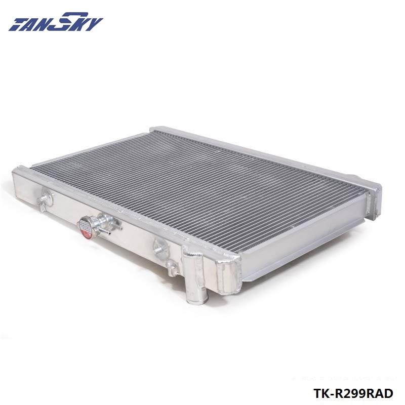 Per il periodo 89-93 Nissan Skyline R32 RB20 RB25 Corsa Radiatore di  Alluminio 2 Row MT Manuale 50 MM TK-R299RAD 9f356f73a51b