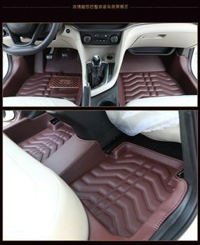 Myfmat custom foot leather car floor mats for Hyundai ROHENS-Coupe tiburon Azera Grand SantaFe RV Verna free shipping classy hot