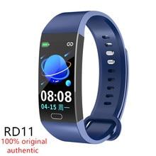 Nova faixa inteligente rd11 esportes rastreador de fitness bluetooth pulseira de monitoramento da freqüência cardíaca ip67 à prova dip67 água inteligente eatch pk y5 r11 s3