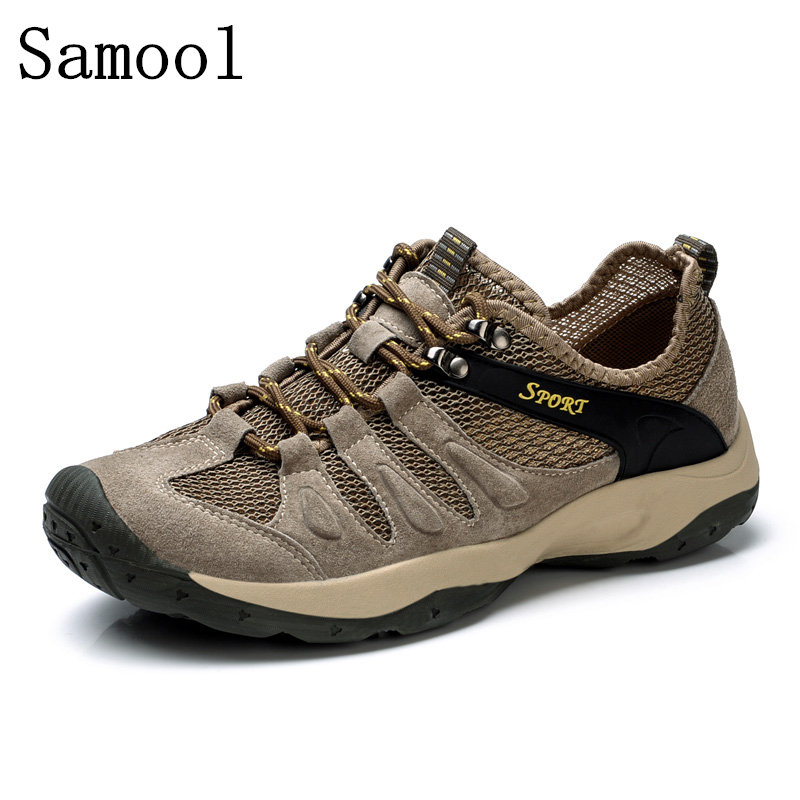 2017 Autumn Hot Sale Men Casual Shoes Breathable Casual Shoes For Men High Quality Mens Lightweight Lace-up Male Outdoor Shoes high quality men casual shoes fashion lace up air mesh shoe men s 2017 autumn design breathable lightweight walking shoes e62
