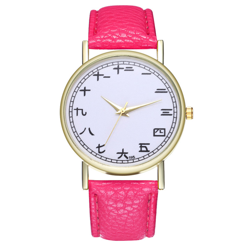 FUNIQUE Creative Watch Women Watch Student Quartz Analog Chinese - Dameure - Foto 4