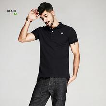 98deb4820763 Summer Mens 100% Cotton Polo Shirts Embroidery Black Blue Brand Clothing  Man s Plus Size Short