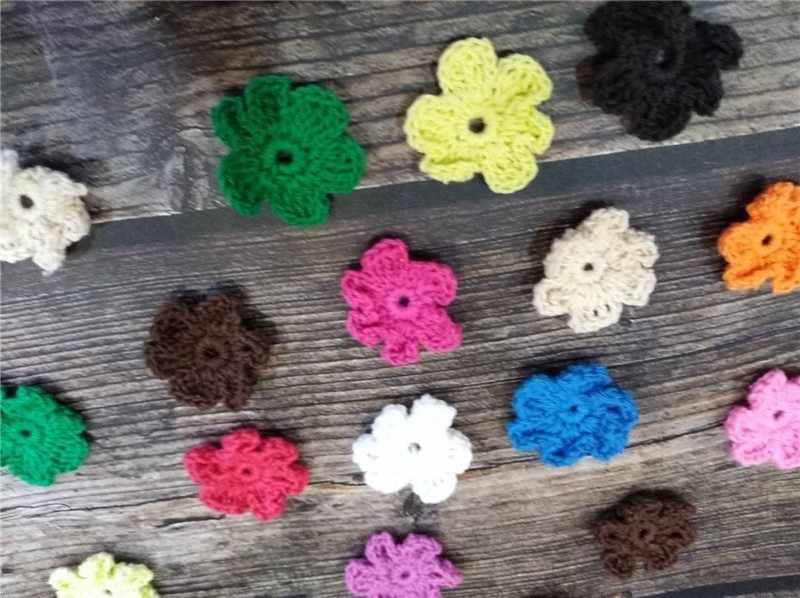 Di lusso Multi Colore Del Fiore Del Crochet Del Merletto di Applique FAI DA TE Cucito Mestiere Venise Tessuto di Pizzo Collare Scollatura Trim Dress Panno Decorazione