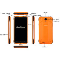 Rugged Power Bank 4G LTE Waterproof Smartphone 5 0 MTK6735 Quad Core Dual SIM Android 5