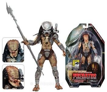 NECA Movie Predator VS Alien Science Monster Rare Ahab Predator Predator Toys Action figure Model фото