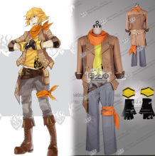 RWBY Yang Xiao Long Cosplay Costume Man versions with gloves
