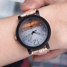2016 HOT moda homens e das mulheres do relógio marca de topo de luxo pulseira de couro de quartzo relógios de pulso reloj relógio colock A94 das mulheres mujer