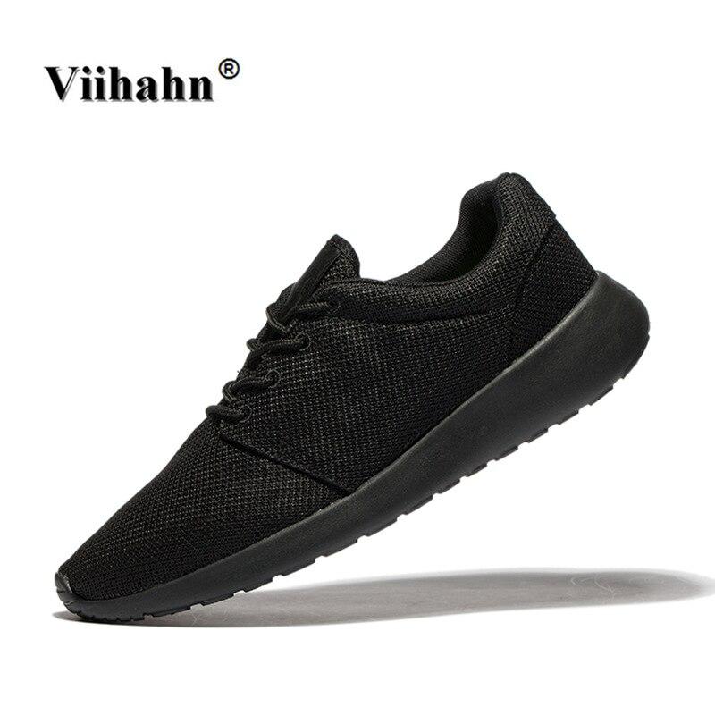 Viihahn zapatillas para hombre transpirable fácil correr zapatillas de deporte d