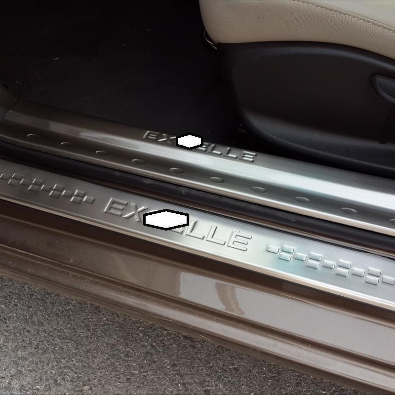Porte pied pédale Automobile Auto décorative voiture style accessoire décoration Protecter 15 16 17 18 19 pour Buick Excelle GT - 2
