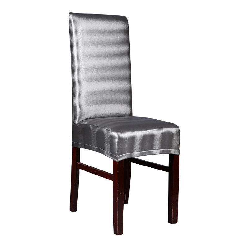 Enjoyable Us 22 0 Aliexpress Com Buy Seat Covers Office Chairs Brown Leather Pu Chair Covers Waterproof Leather Dining Chair Covers Black Silver Grey Machost Co Dining Chair Design Ideas Machostcouk
